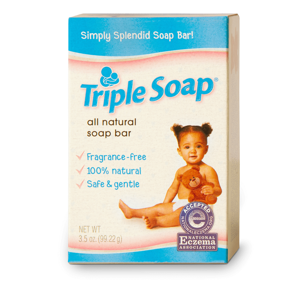 Triple Soap Bath Bar